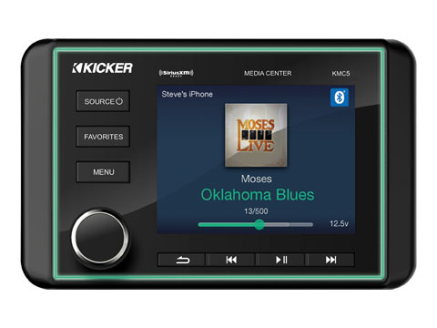 marine audio speakers subs amps kicker® source units