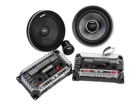 car tweeters and mid range speakers kicker acirc reg  qs series
