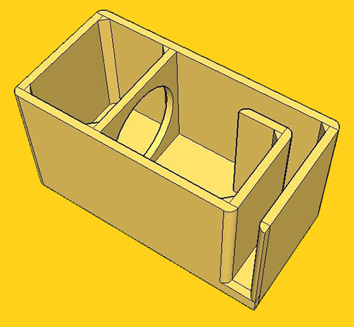 3 Chamber Bandpass Enclosure  sc 1 st  Kicker & How to Build a Subwoofer Box | KICKER® Aboutintivar.Com