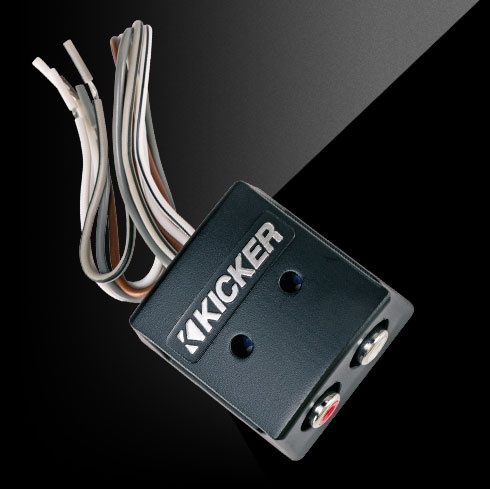 Speaker Wire to RCA Converter - KISLOC | KICKER®