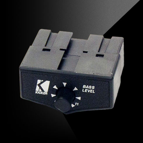 kicker ptphrg remote gain unit accessories for the following kicker powered sub box models hideaway hs8 and bassstation phd12 ph12 pt10 pt8 and pt250