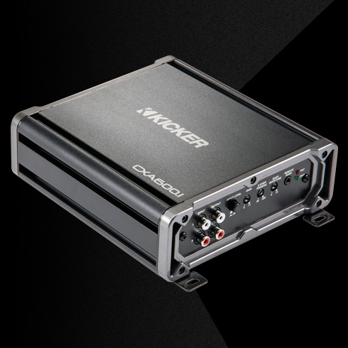 2016 cx600 1 amplifier kicker® cx600 1 mono amplifier