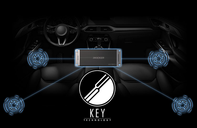 Kicker Key Smart Amplifier