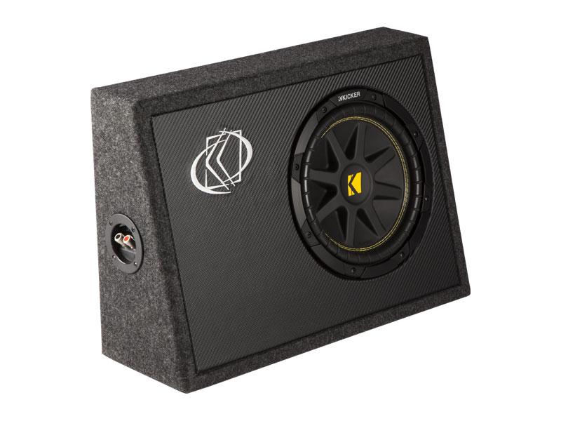 10 comp loaded subwoofer box kicker. Black Bedroom Furniture Sets. Home Design Ideas