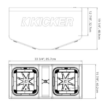 Dual 12 L7 Subwoofer Enclosure – Kicker L7 Subs Wiring-diagram