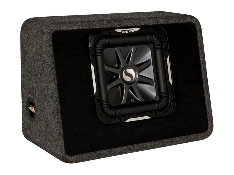 "Solo-Baric L7 10"" Loaded Subwoofer Box | KICKER@reg;"