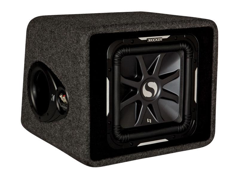 solo baric l7 12 loaded subwoofer box kicker. Black Bedroom Furniture Sets. Home Design Ideas