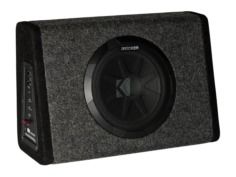 bassstation™ powered subwoofers kicker®