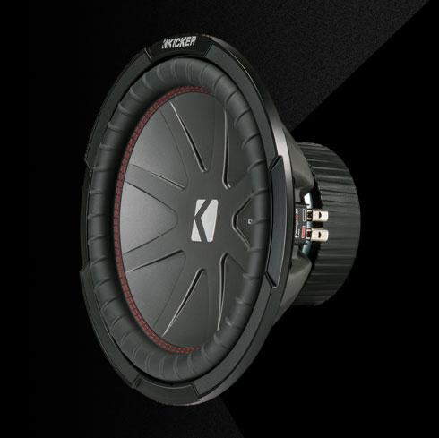comp r 12 2 ohm subwoofer kicker. Black Bedroom Furniture Sets. Home Design Ideas