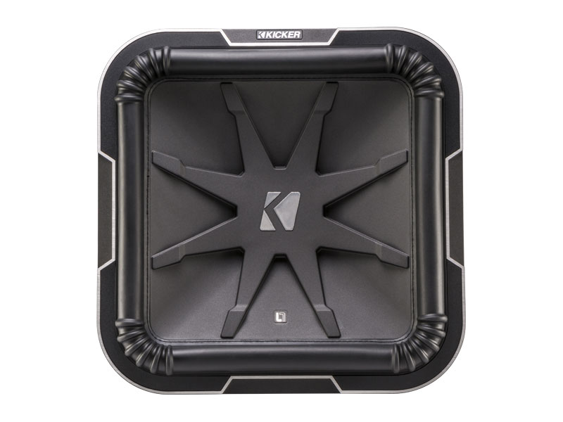 Kicker CompVR 05CVR1subwoofer with dual 4-ohm voice coils