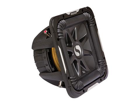 Kicker Solo-baric L7 S12l74 12 Dual 4-ohm Voice Coil Subwoofer ...