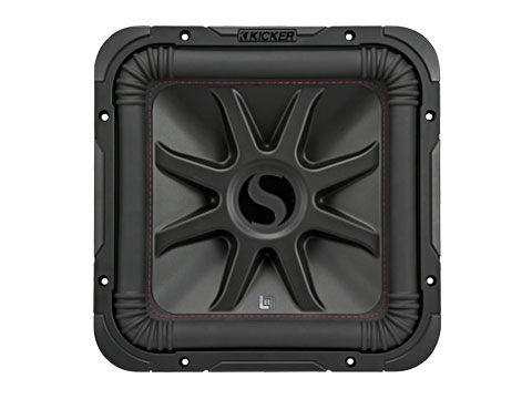 car subwoofers kicker® two 12-inch subwoofers new for 2018 l7r