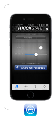 Kickstart Speaker App | KICKER®