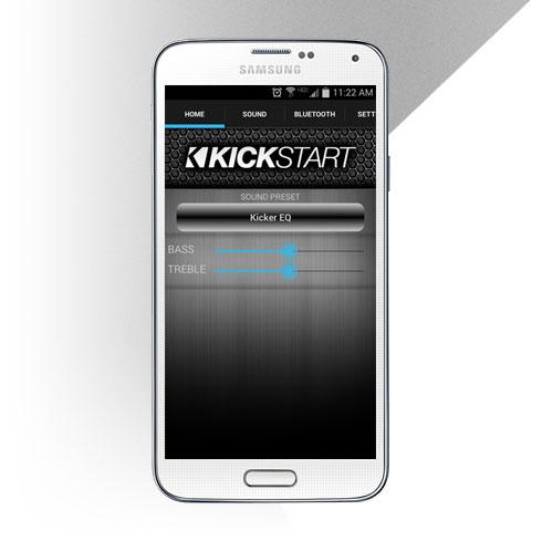 Kickstart Speaker App | KICKER® on