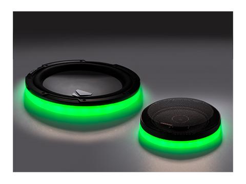 KLSR LED Speaker Rings  KICKER®