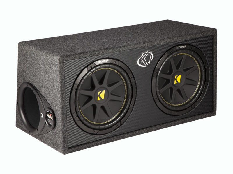 Dual 12 U0026quot  Comp Loaded Subwoofer Box