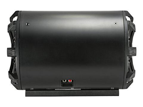 400 Watt 4-Ohm Kicker 46CWTB104 TB10 10-inch Loaded Weather-Proof Subwoofer Enclosure w//Passive Radiator