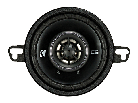4-Ohm Kicker 43CSC354 CSC35 3.5-Inch Coaxial Speakers
