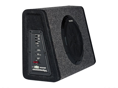 bassstation powered subwoofers kicker rh kicker com