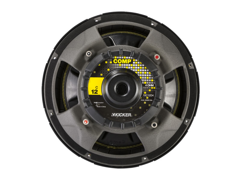 "12"" Comp Subwoofer - 4 Ohm DVC 