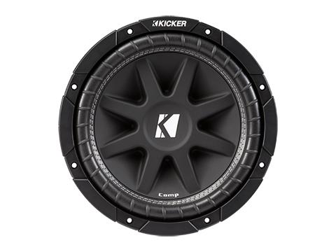 Kicker 43C104 Comp 10 300 Watt SVC 4-ohm Car Audio Subwoofer Woofer Sub C104