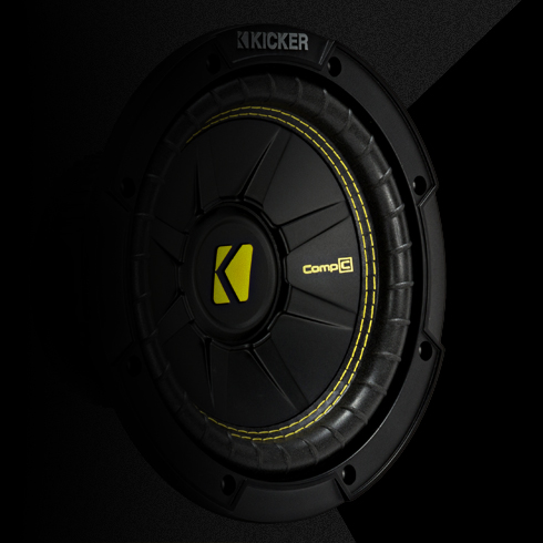 CompC 12 Inch Subwoofer | KICKER®