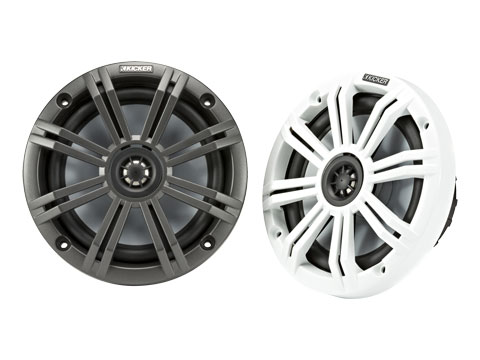 KM Coaxial Charcoal and White